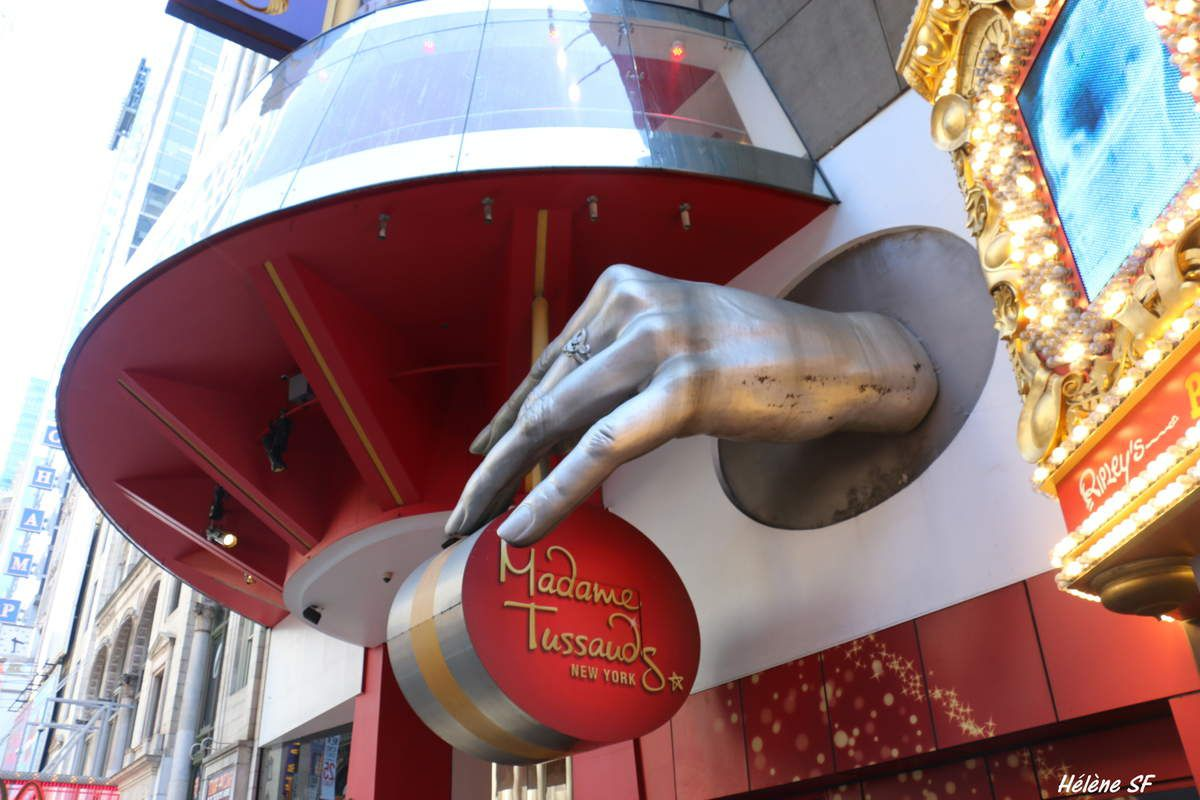 New York, ça vaut le coup d'aller chez Madame Tussauds ou pas? Avis d'une maman d'ados