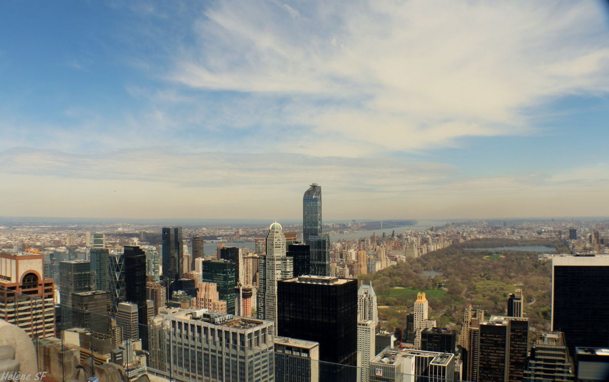 Top of the Rock ou Empire State? Episode 1: Avis et photos de notre visite au Top of the Rock