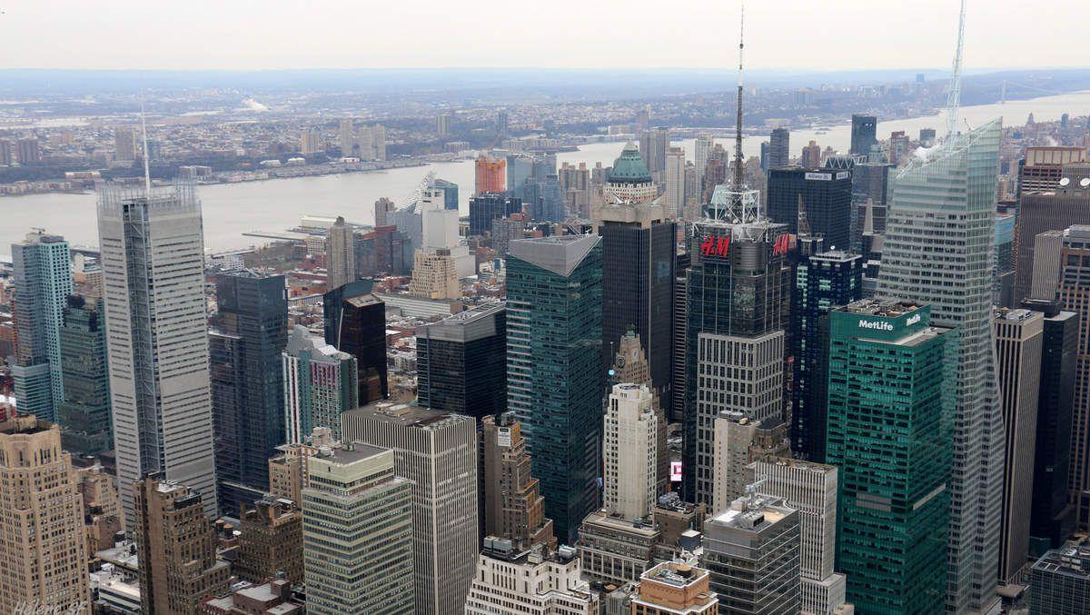 Times Square vu depuis l'Empire State