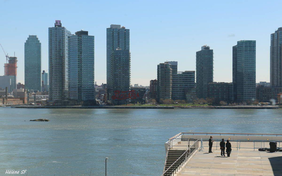 Long Island vu depuis la terrasse de l'ONU