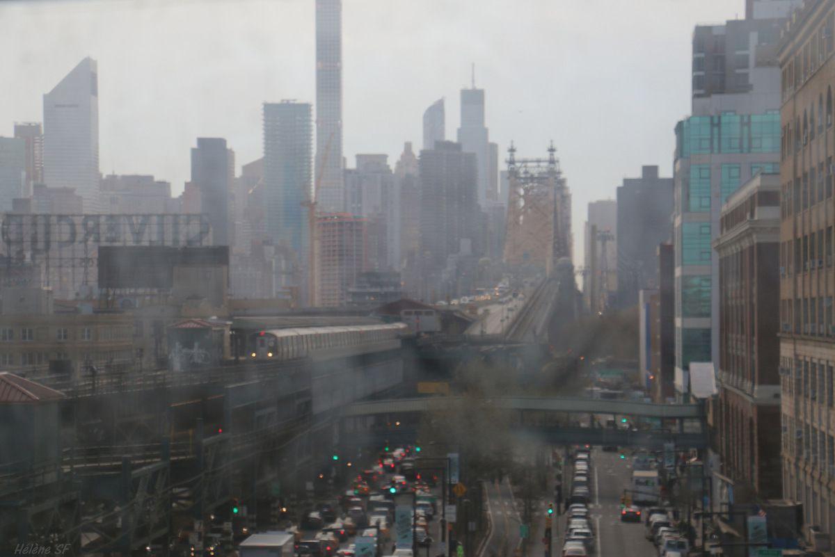 retour en métro vers Manhattan...