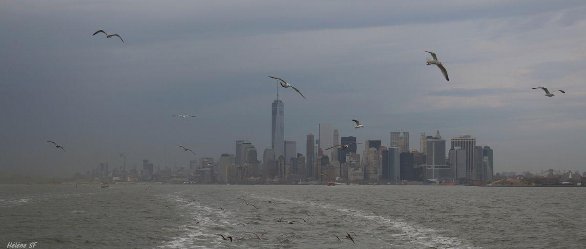 New York, aller voir la statue de la liberté avec le ferry de Staten Island ou en croisière? Episode 1, avec le ferry, avis en images
