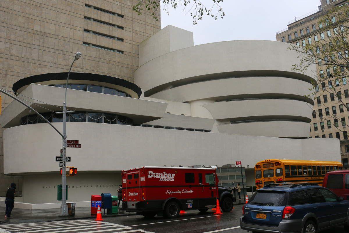 New York: Visite exprès du Guggenheim