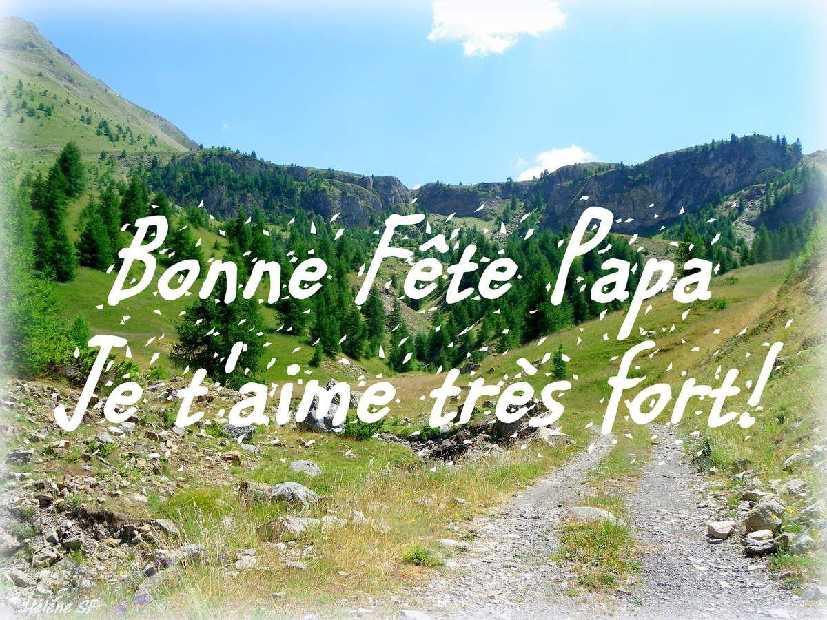 Carte et poème Bonne Fête Papa