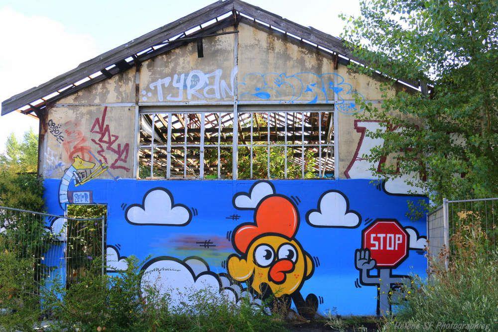 Bordeaux Incontournable: l'espace Darwin et son street art