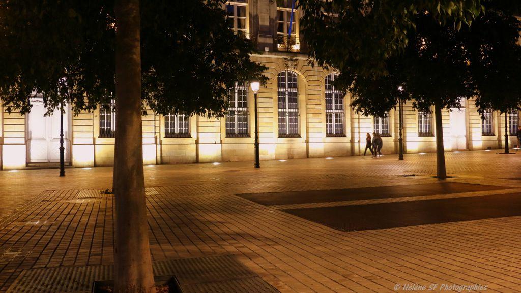 Bordeaux, ses incontournables: une balade de nuit quand tout s'illumine, pont de pierre, miroir d'eau, à ne pas rater!