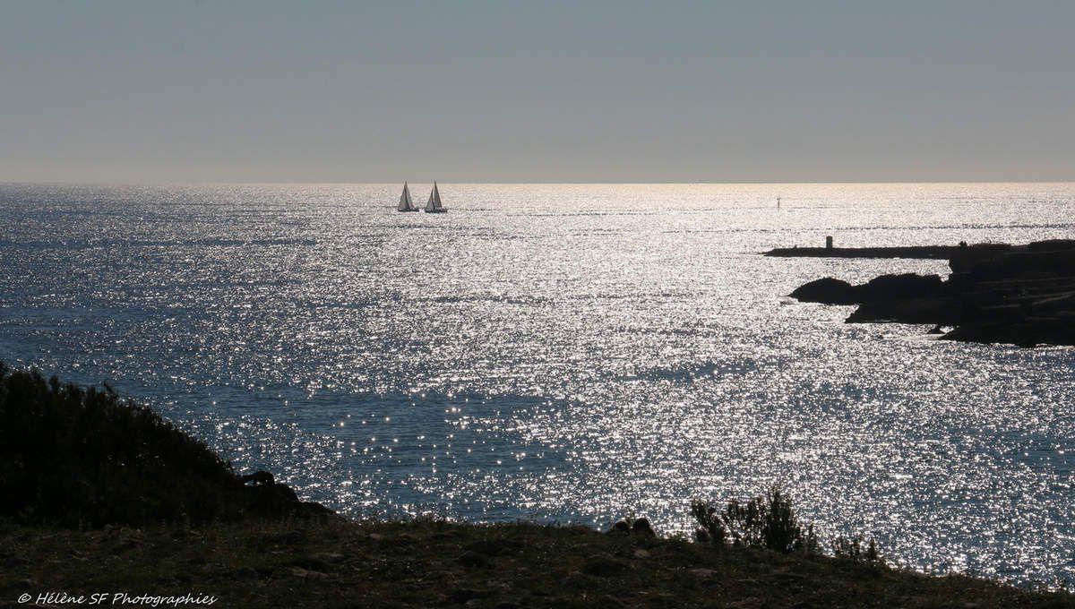 Martigues La Couronne très belle randonnée jusqu'à Sainte Croix par le sentier du douanier