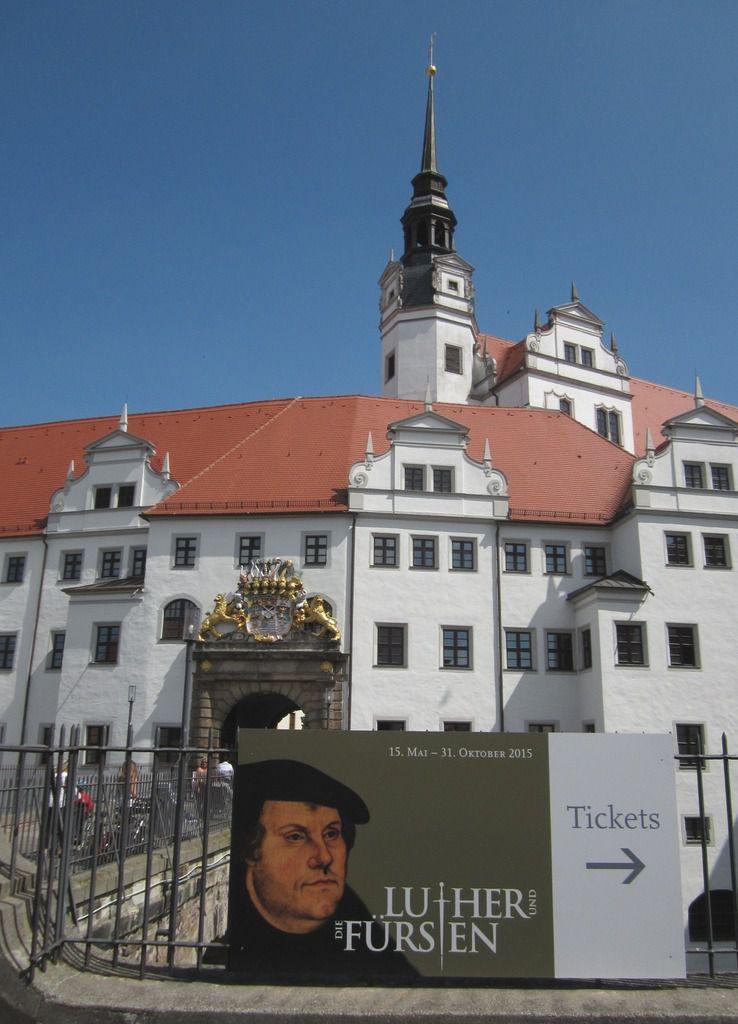 Entrée du Château de Torgau.