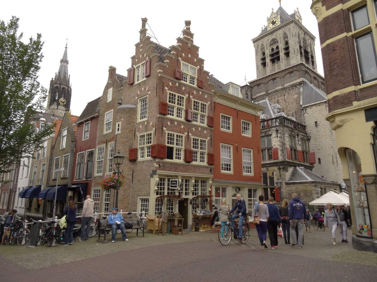 Delft, près de la Grand-Place