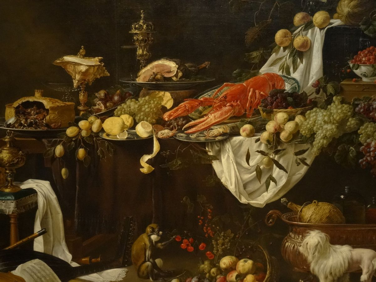 Nature morte, A. van Utrecht. 1644