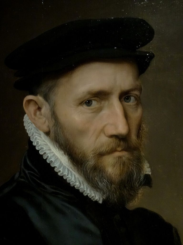 Portrait de Sir Thomas Gresham. Anthonis Mor c. 1560-1565.
