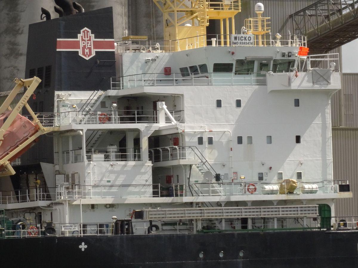 Un navire polonais au chargement