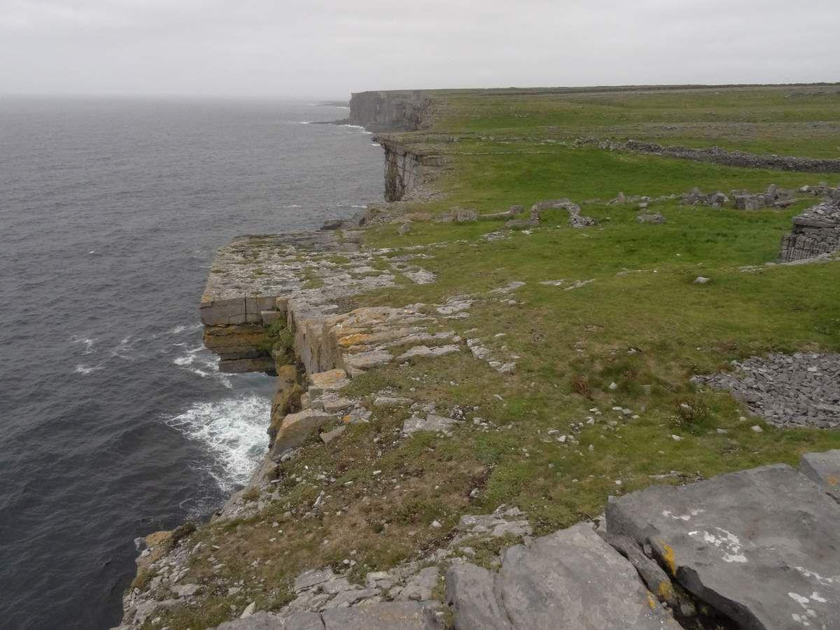 Vue vers le nord-ouest de l'île.