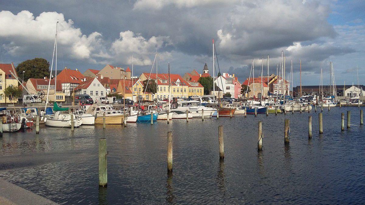 Le port de Faaborg.
