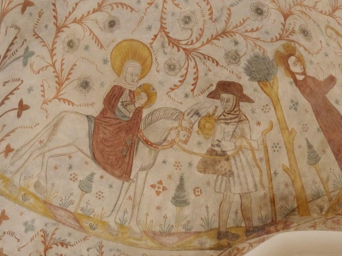 Joseph et Marie.