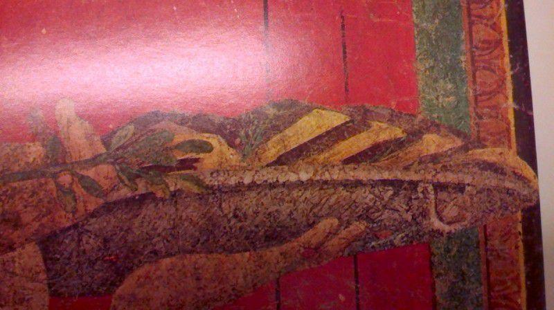 Fig.4a Ingrandimento del vassoio e del suo contenuto