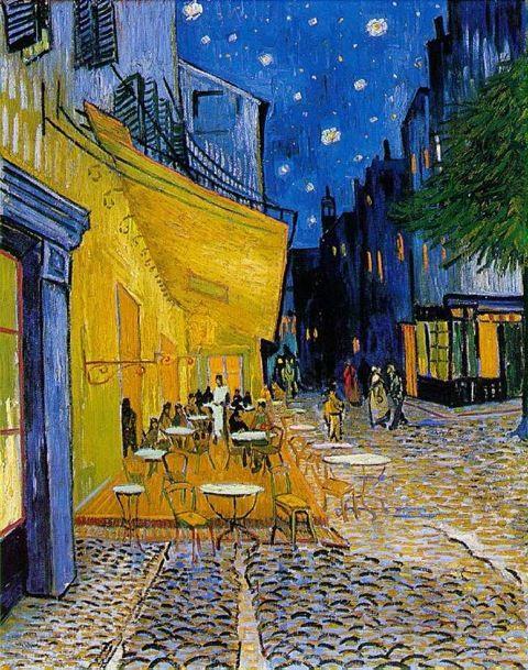 Van Gogh Terrazza Del Caffe La Sera Cio Che Nessuno Ha