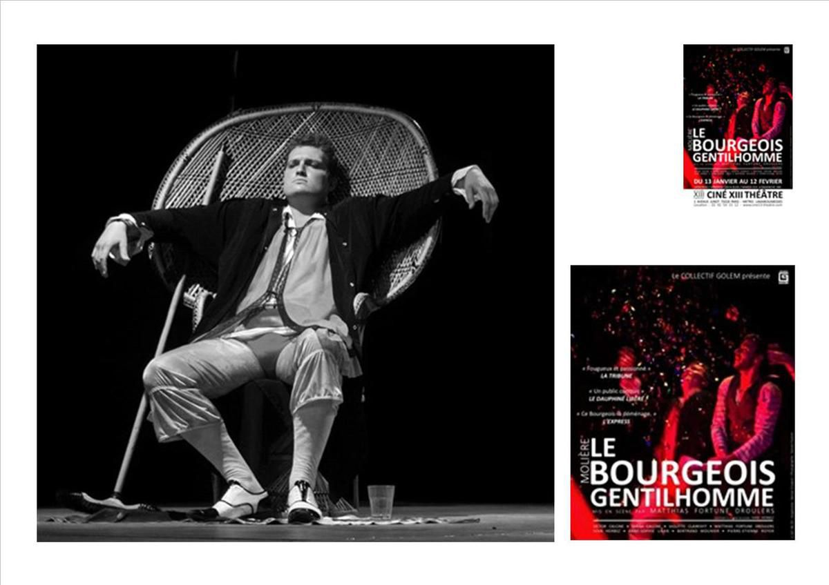 Le Bourgeois gentilhomme 2016