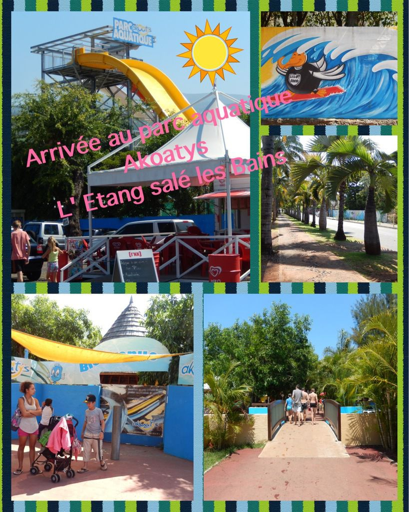 parc aquatique etang sale