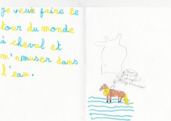 Faire le tour du monde a cheval plus s'amuser dans l'eau