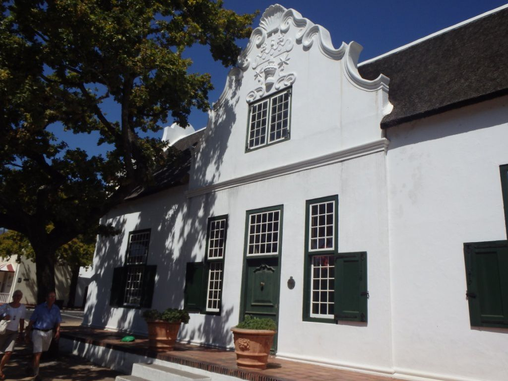 Maison de type Cape Dutch - Domaines Vergelegen et Boschendal