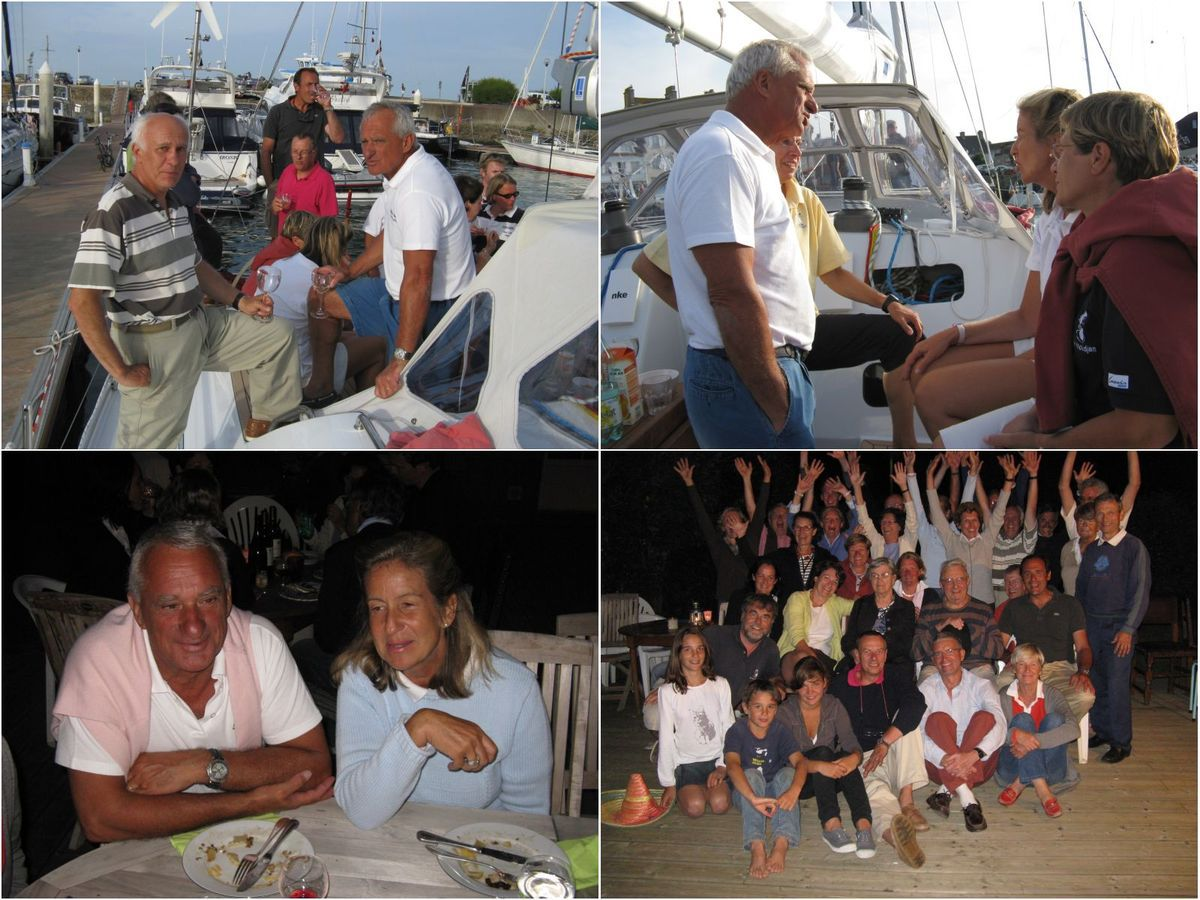 Souvenir de l'arrivée d'Alioth à Saint-Vaast en août 2009 (merci Gérard pour l'envoi de ces photos)