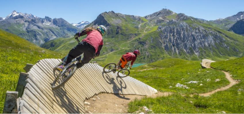 week-end vtt tignes