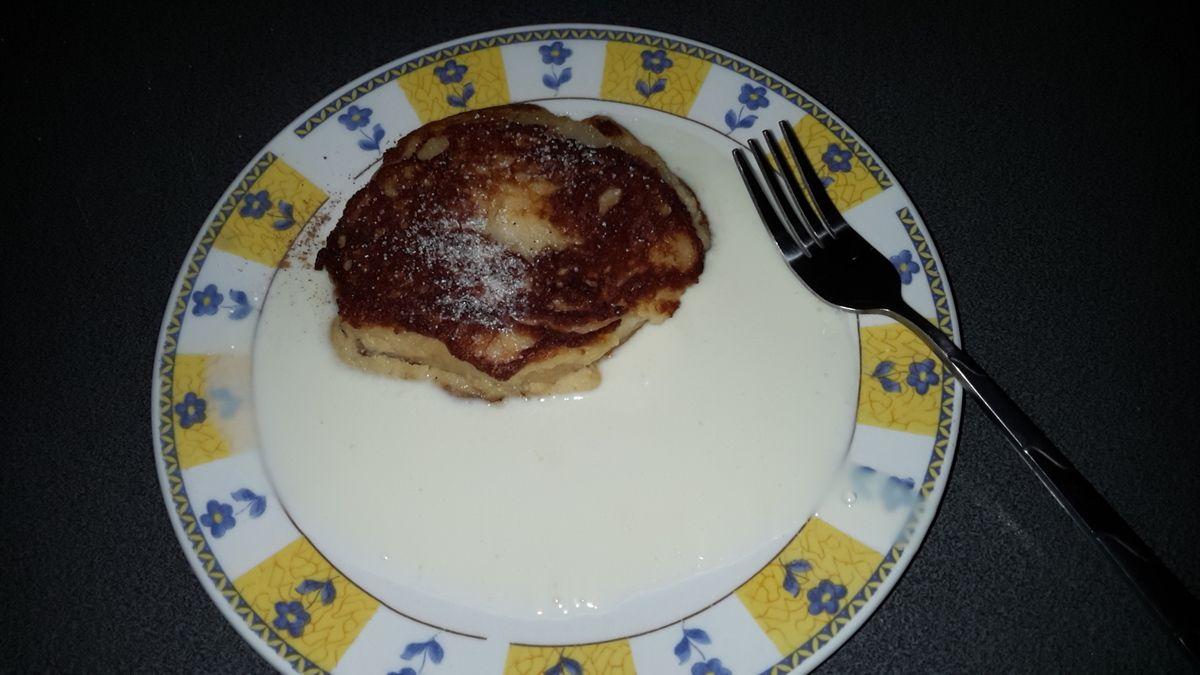 gebratene Apfelküchlein  (Low carb )