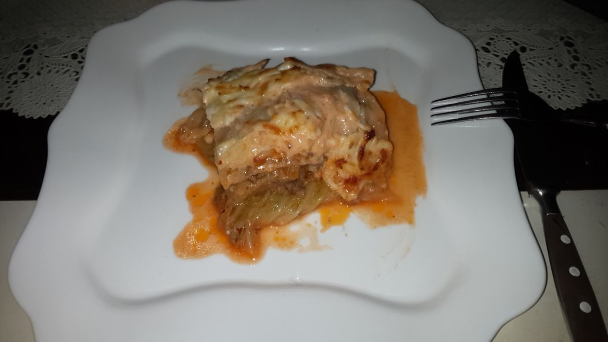 Krautlasagne  low carb
