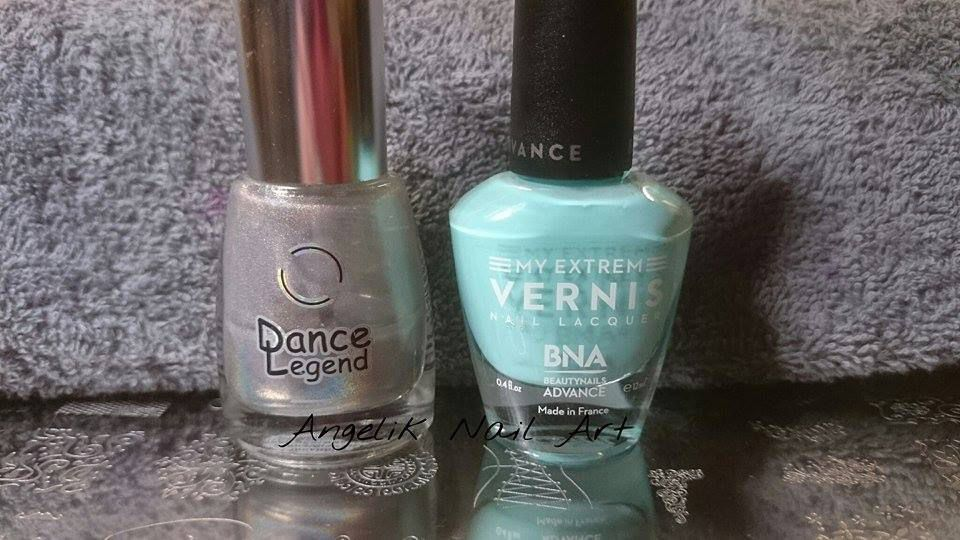 Mes vernis Ongles Amor et plaque Stamping M2