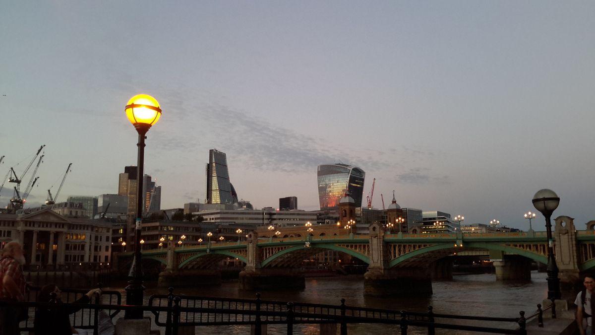 Quatre jours à Londres