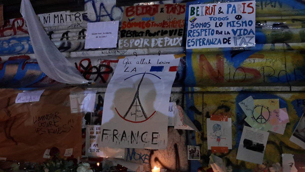 Rassemblement République (Paris) 15/11/15