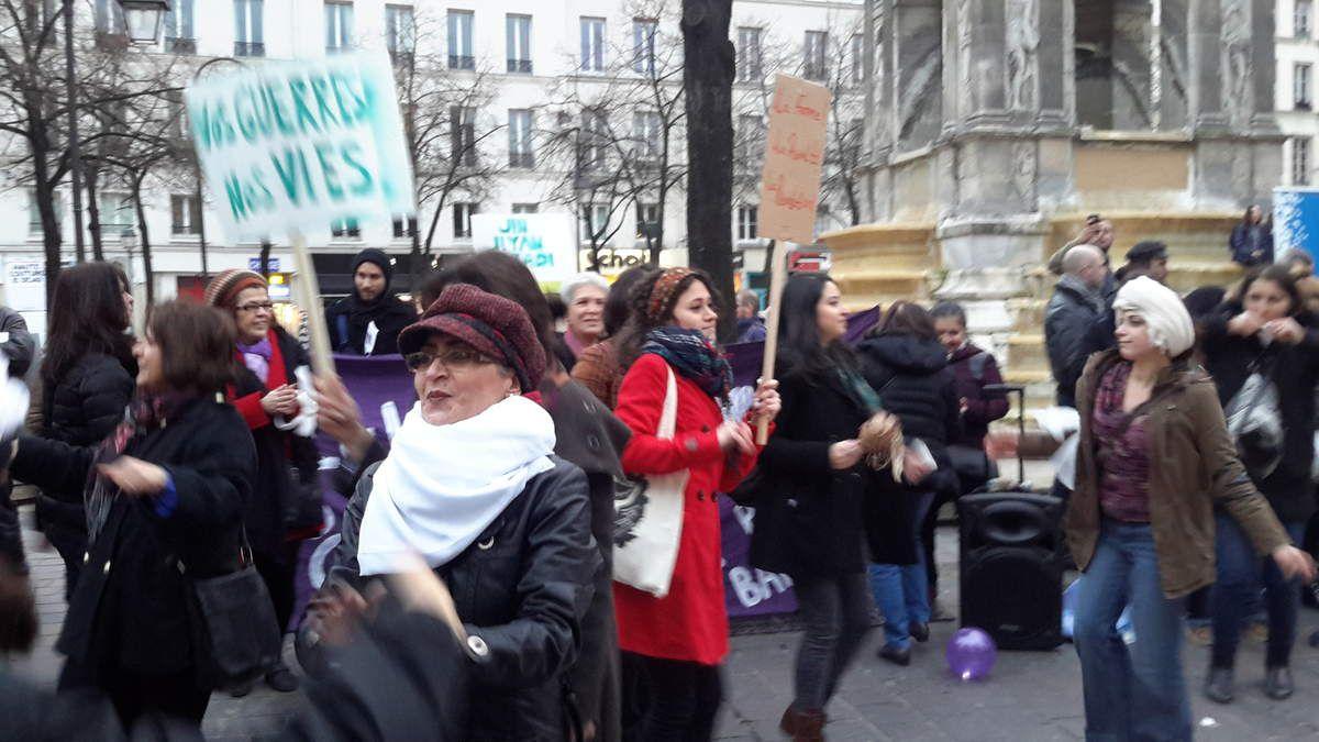 L'événement du jour : Manif femmes du 8 mars