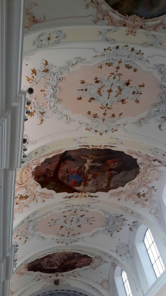 Augsburg &#x3B; Eglise Ste Anne. Les moines de ce couvent ont accueilli Martin Luther en 1518.