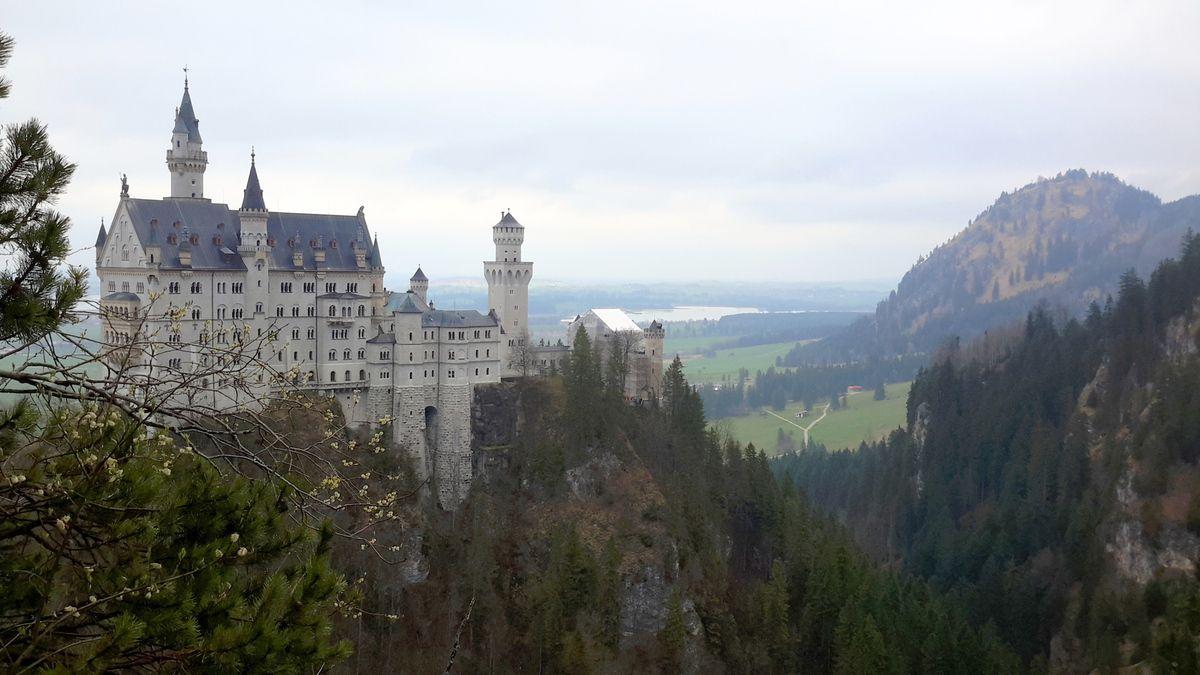 Neuschwanstein, les châteaux de Louis II de Bavière