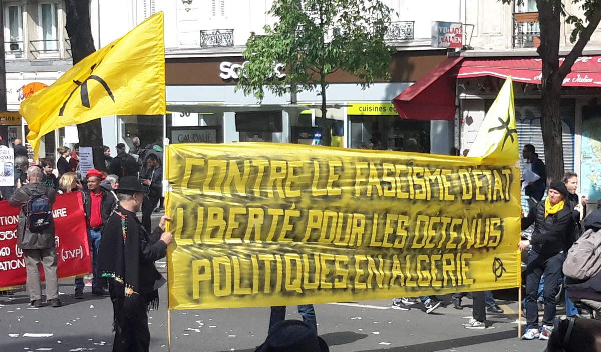 Les photos du jour : premier mai à Paris