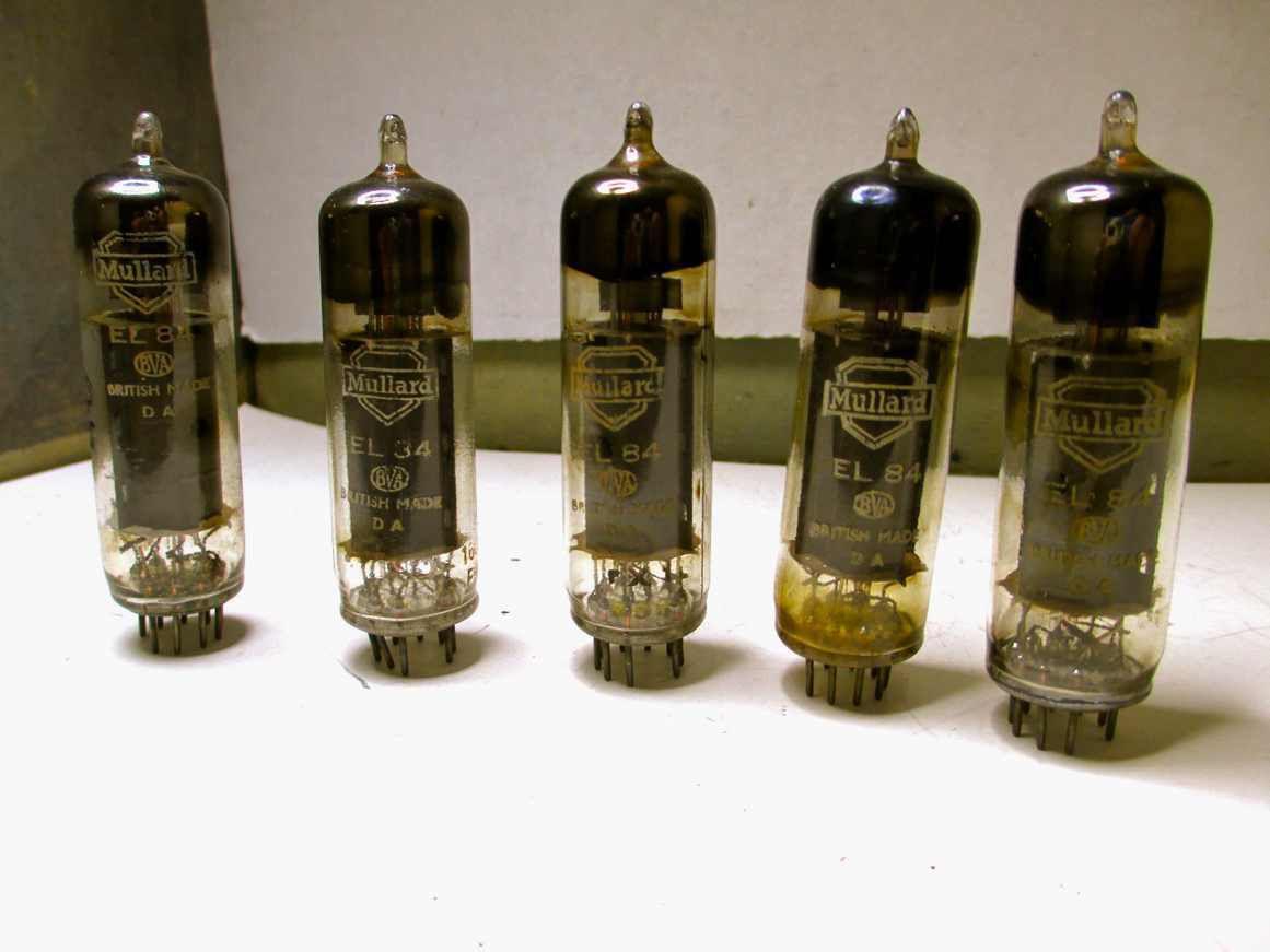 EL84 , E84L , 7189 , 7189A , ELL80 , ECLL800