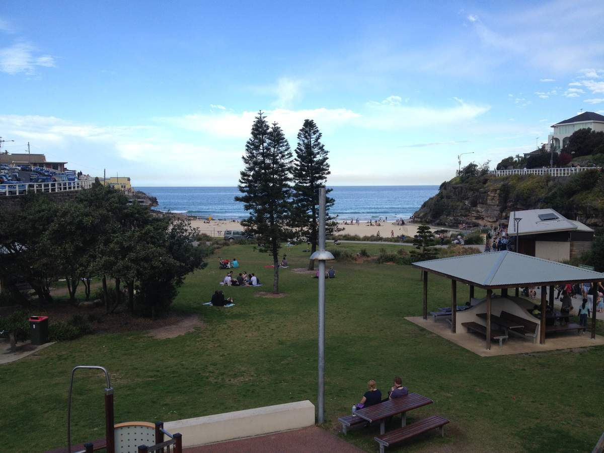 Tamarama Beach en alternance avec Clovelly Beach...