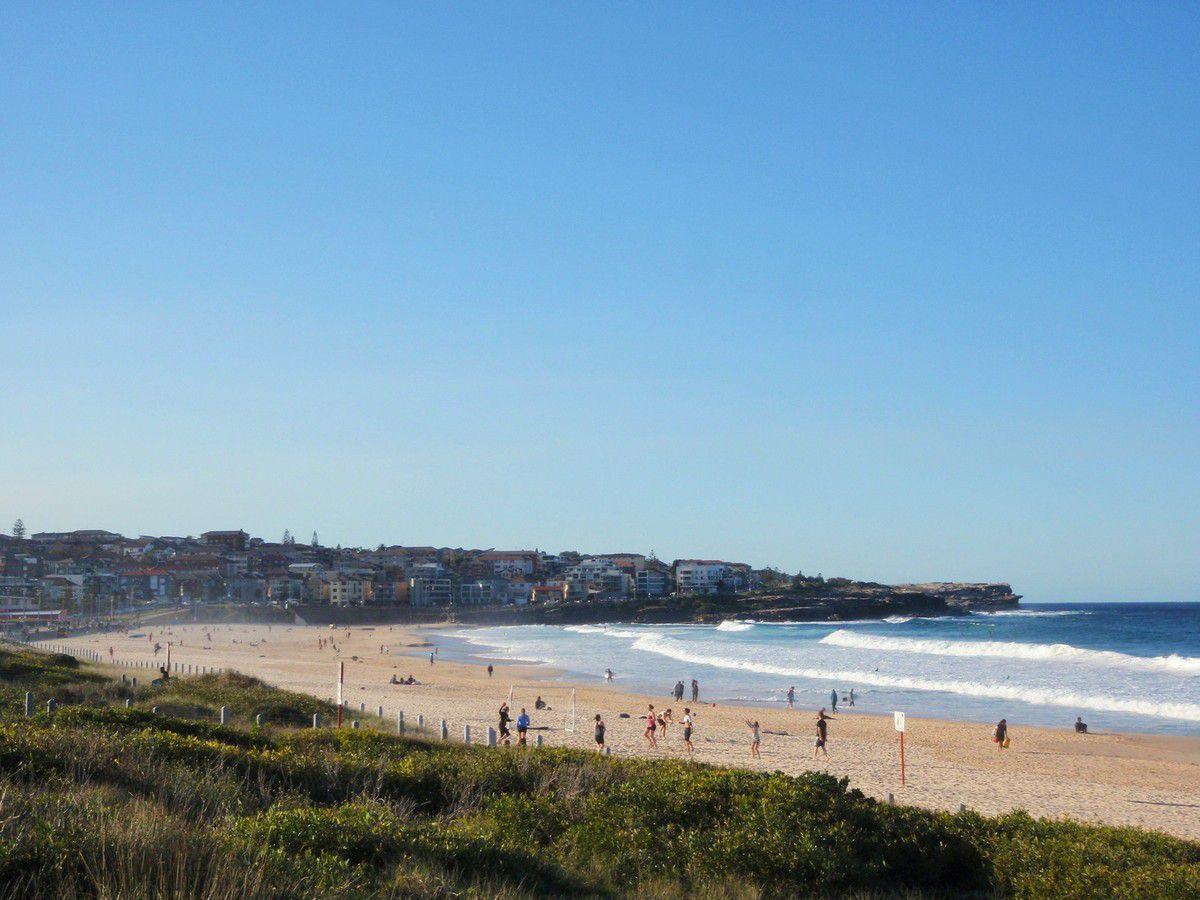 """Maroubra beach... Avant réputée pour les Brasboys, c'étaient des surfers mais pas très préteurs envers les étrangers et plutôt """"rough""""... A ne pas s'y frotter..."""