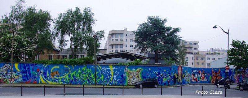 Ourcq Living Colors  - rue Germaine Tailleferre - Paris 19e
