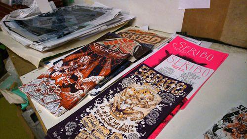 Images, papier, peinture :