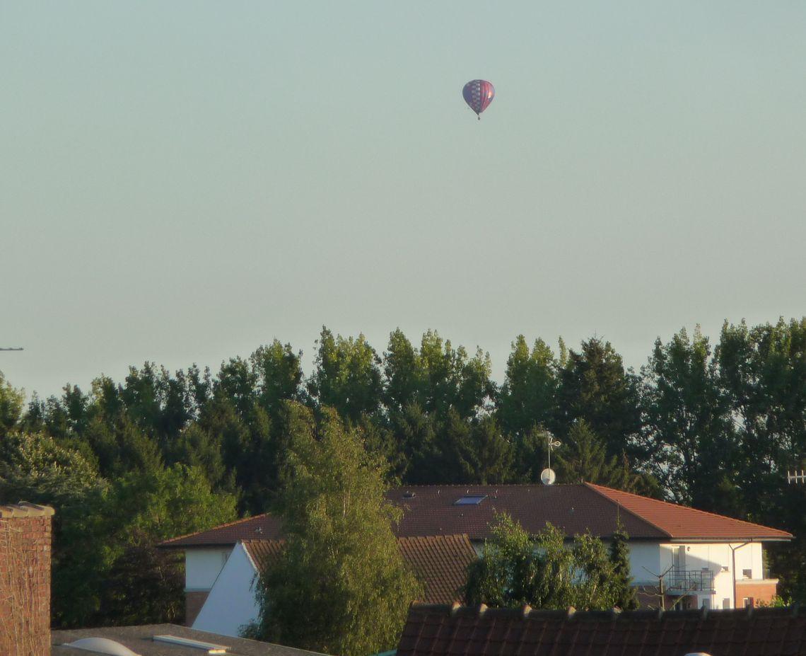 La chevauchée... des montgolfières sur Halluin - Septembre 2016.