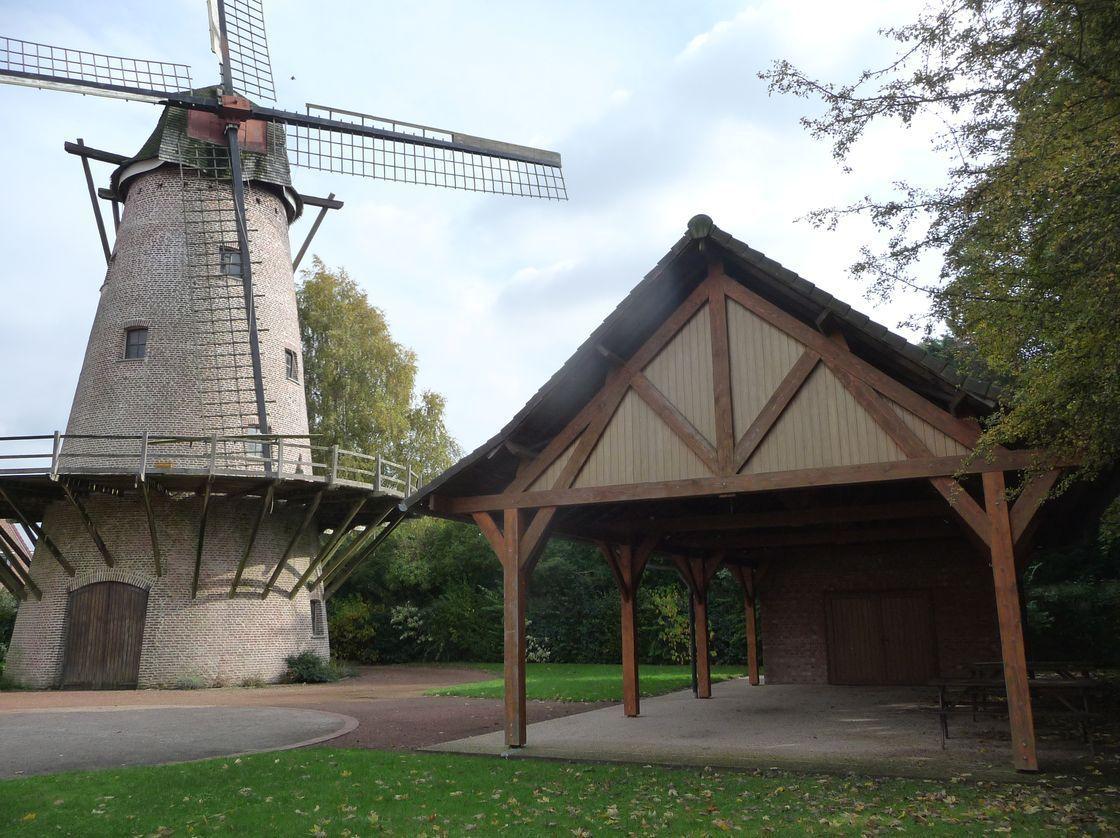Le site du Moulin d'Halluin - Septembre 2016.