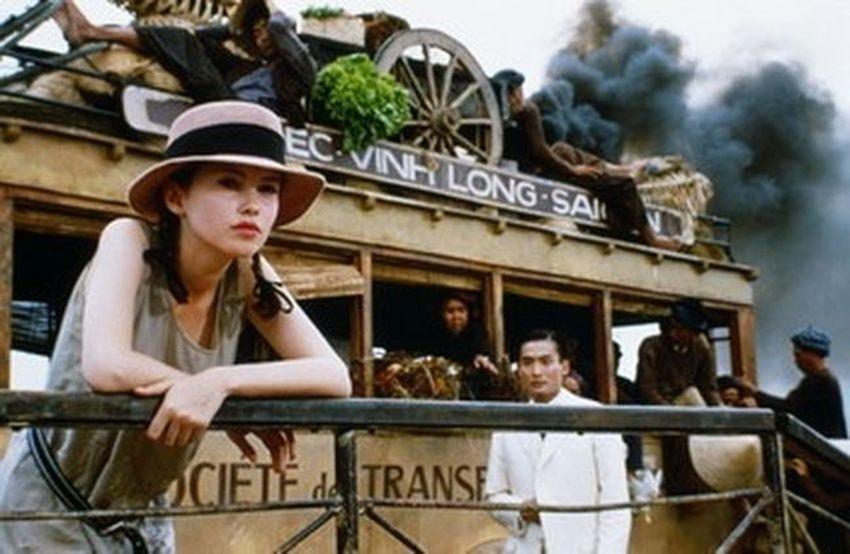 """En 1991, pour le film """"L'Amant"""" de Jean-Jacques Annaud,.. et le récit narré par la voix inimitable et sensuelle de Jeanne Moreau."""