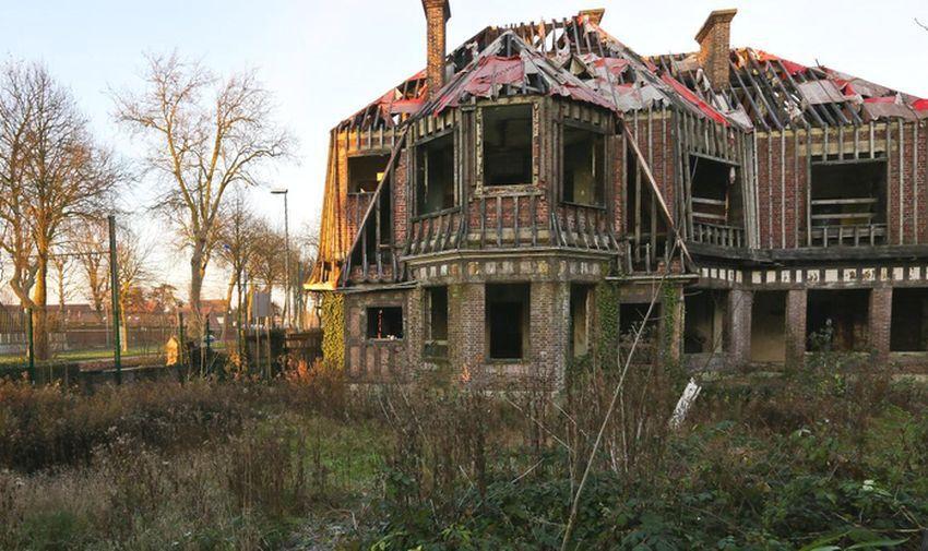 Villa Maillard Avenue de la Marne Tourcoing... Edifice sauvé !