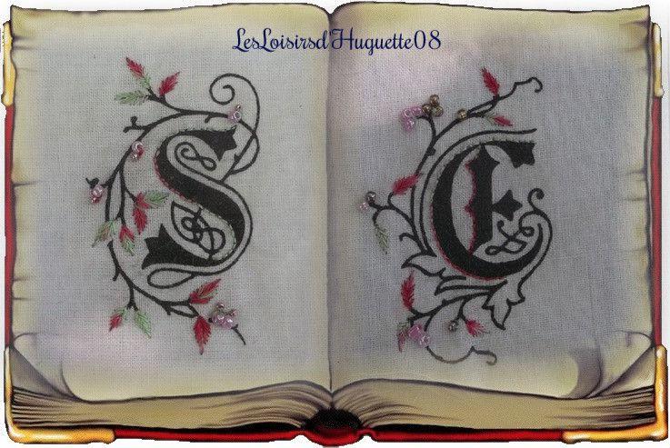 Lettres Enluminées....