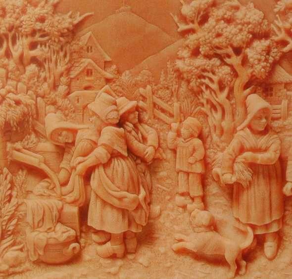 L'art de la sculpture avec les fontaines pétrifiantes