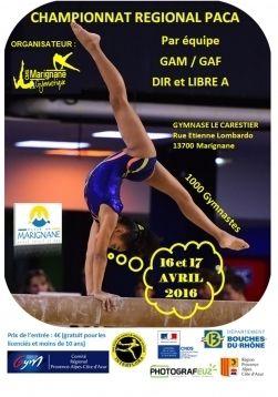 Championnat Régional DIR &amp&#x3B; GAF et DR LIBRE GAF-GAM