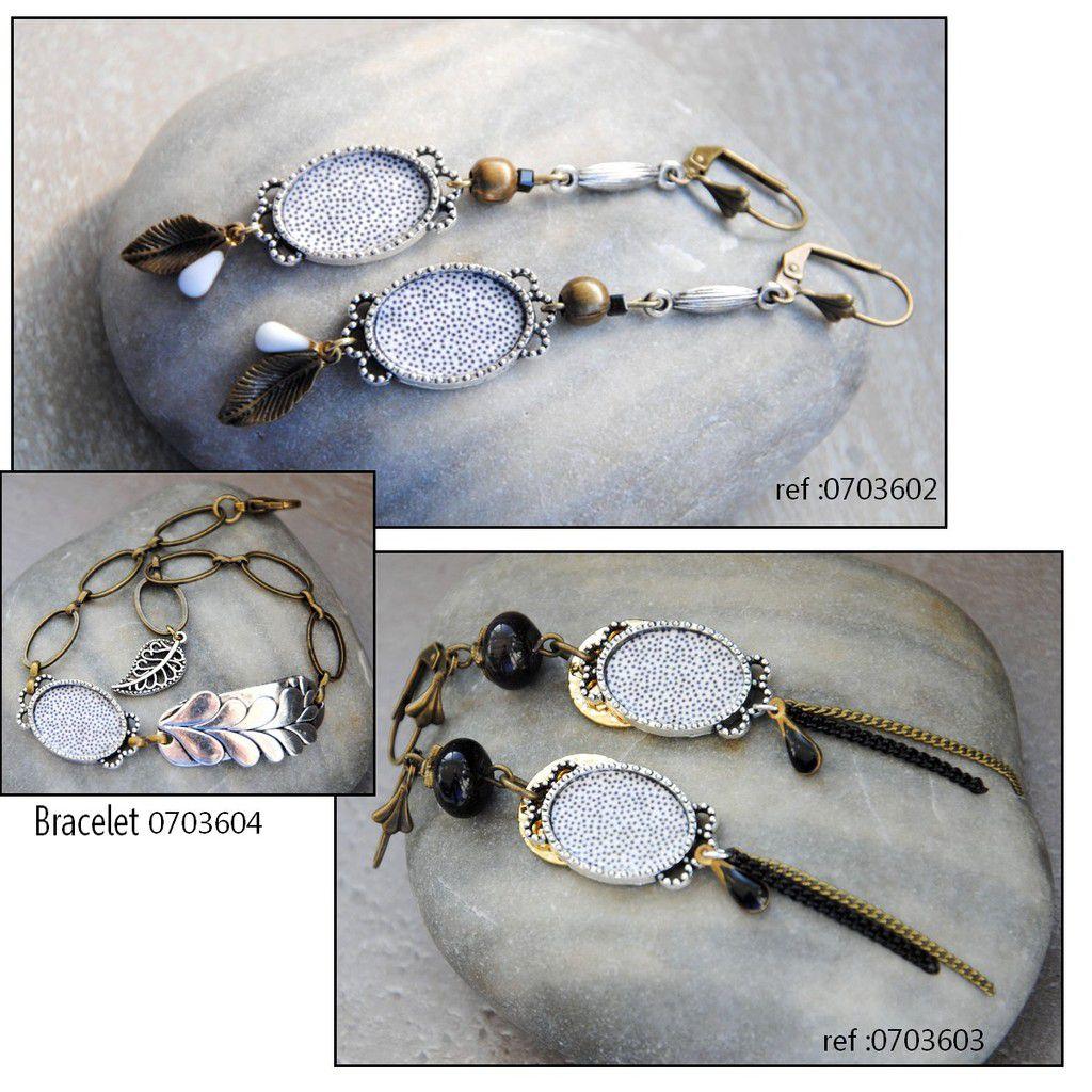Boucles, bracelets et clip !!!!!