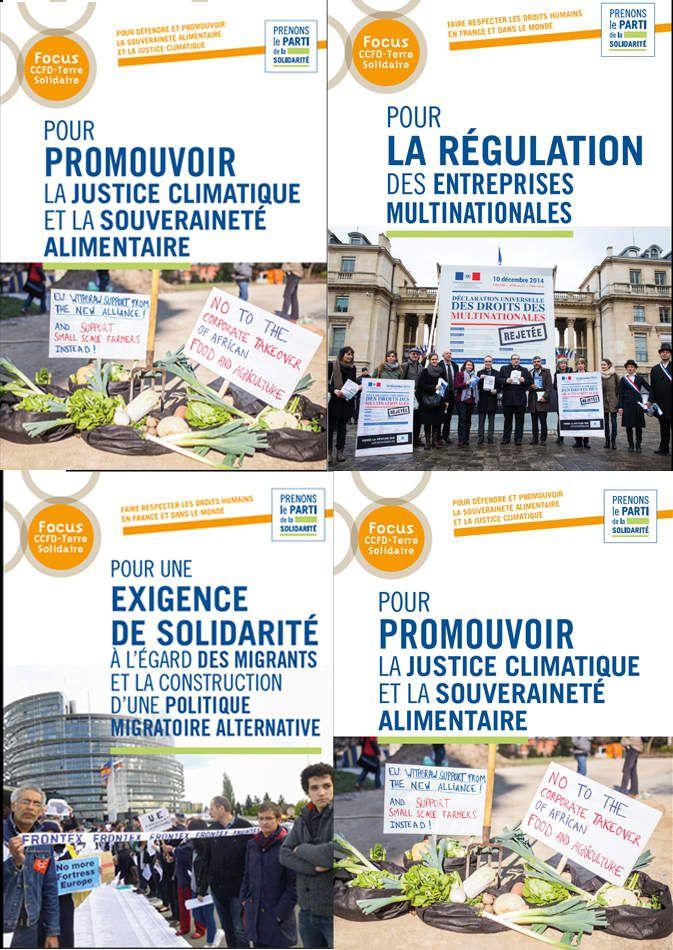 Les Focus du CCFD-Terre Solidaire